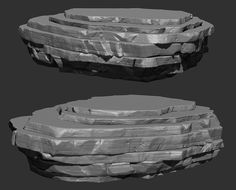 Zbrush Video Rock Formation tutorial. Part 2 done - Polycount Forum