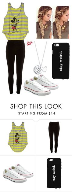 """Untitled #518"" by jessica-smith-xxv ❤ liked on Polyvore featuring River Island, Converse, LG and Disney"
