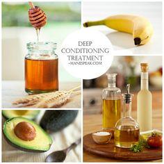 Natural hair - Making My Natural Hair Grow Longer: Deep Conditioning Treatment