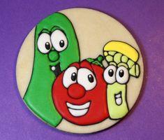 Gluten-free, soy-free, dairy-free, Veggie Tales Cookies
