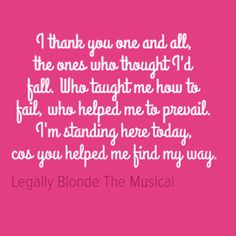 Find My Way - Legally Blonde the Musical                              …