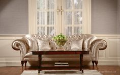Dorya US Heritage Gallery. That sofa is amazing. It looks so comfortable and shiny! Classic Interior, Lounge, Sofa, House Design, Furnitures, Gallery, Living Rooms, Chicago, Interiors