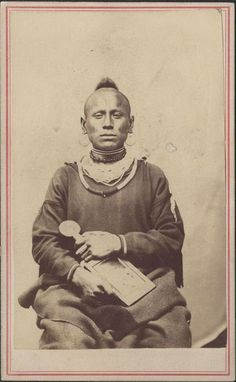Paw Nee Indians | Unidentified Pawnee Indian, 1860s