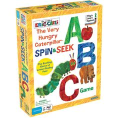 UG-01249 - The Very Hungry Caterpillar Spin & Seek Abc Game in General