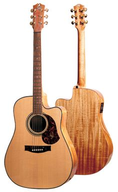 I can't play but I do love Maton guitars.