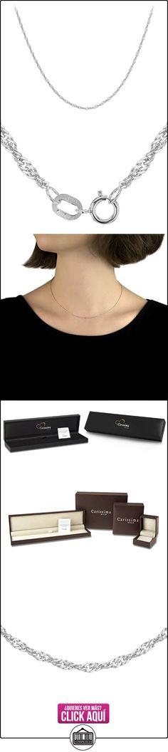 Carissima Gold Collar de mujer con oro blanco, 41 cm  ✿ Joyas para mujer - Las mejores ofertas ✿ ▬► Ver oferta: http://comprar.io/goto/B01J3RRAQM