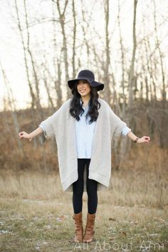 Free crochet pattern for the Granite Cape using Lion Brand Heartland yarn. Oversized sweater that drapes beautifully. Perfect crochet project for fall.