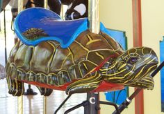 Detroit Zoo Carousel Painted Turtle