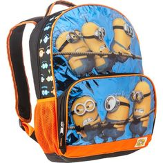 Despicable Me Boys' Backpack with Voice Chip
