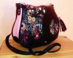 Galaxy des couleurs sac besace par SassyMiss : Sacs bandoulière par sassy-miss