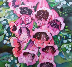 Foxgloves ~ Marion Taylor