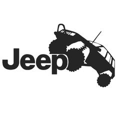 Jeep Off-roading Car Vinyl Decal Jeep Stickers, Jeep Decals, Vinyl Decals, Jeep 4x4, Jeep Truck, Grand Vitara, Machine Silhouette Portrait, Jeep Tattoo, Jeep Grand Cherokee Zj