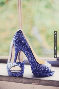 bright blue wedding shoes by Enzo Angiolini   CHECK OUT MORE IDEAS AT WEDDINGPINS.NET   #weddingshoes