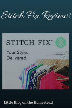 I love the items in my second Stitch Fix box!
