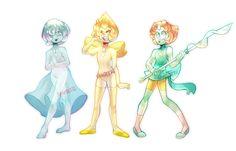 Steven Universe: Pearls by Sandette on DeviantArt
