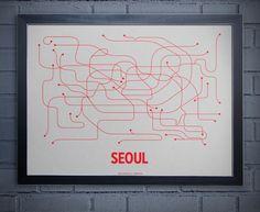 transit maps: seoul