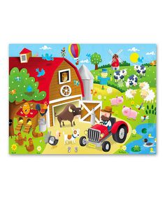 Look at this Barnyard Fun 36-Piece Puzzle on #zulily today!