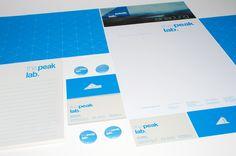 Identidade Visual da the peak lab | Criatives | Blog Design, Inspirações, Tutoriais, Web Design