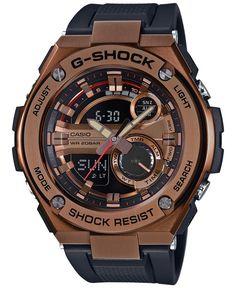 G-Shock Men's Analog-Digital Black Strap Watch 59x52mm GST210B-4A
