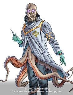 #theoctopus #TableTopRPG #SuperHero #Superhero2044 #ComicBooks #Gaming #Art #CollectibleCardGame #CheckerBPG