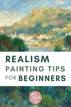 Learn how to make your painting more realistic with these 5 painting tips! Realism Painting may mean different things to different people. To some it may mean wanting a painting to look like a photograph. To others it might mean painting that is representational – that is painting that makes 'things look like things'. Here are some core practical concepts to help you in creating a more realistic painting! Drawing Lessons, Painting Lessons, Painting Tips, Oil Painting For Beginners, Beginner Art, Art Folder, Realistic Paintings, Oil Painters, Learn To Paint