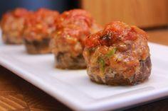 Food I Make My Soldier: Italian Sausage and Pepper Stuffed Mushrooms