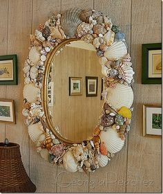 Make the shell mirror of my dreams.  Only completely cover the frame.  No inner rim showing for me.