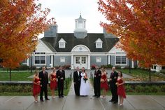 A lovely fall wedding at the Alumni Center.