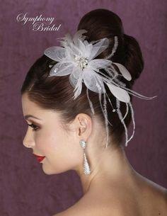 Symphony Bridal Flower FL1202  http://www.thewasonline.com/bridal-headpieces/bridal-hair-flowers-feathers/symphony-bridal-flower-fl1202/