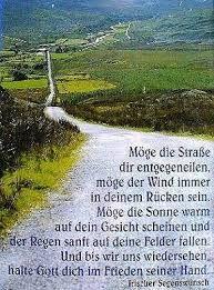 Irischer Segenswunsch zum Abschied | sprűche | Are you happy