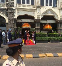 Day 1 - Duke and Duchess of Cambridge arrive at the Taj Palace Hotel