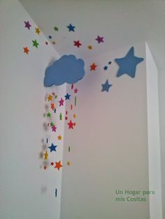 Decoration Creche, Class Decoration, School Decorations, Birthday Decorations, Home Crafts, Diy And Crafts, Crafts For Kids, Paper Crafts, Baby Room Decor