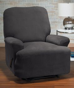Elegant This Gray Eastwood Four Piece Stretch Recliner Slipcover Is Perfectu2026 Good Ideas