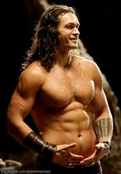 Jason Mamoa. I'm in heat after looking at this!