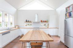 Kitchen Island, Kitchen Design, Table, Furniture, Home Decor, Island Kitchen, Cuisine Design, Decoration Home, Room Decor