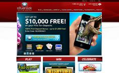 The #casino has #Progressive jackpots from $1000 to over $100000 - Silver Oak Casino >> jackpotcity.co/i/149.aspx