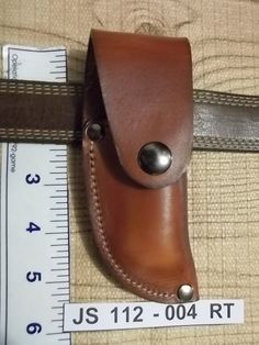 Custom leather knife Sheath  JS11204RT by JSLeather66 on Etsy, $18.00