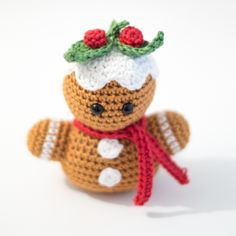 The Gingerbread Man Bust is another pattern in my Winter Bust Collection. It's an easy pattern to make. Enjoy!
