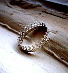 Fit for a Queen  Sterling Silver Ring by TheLovelySmith on Etsy