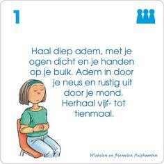 Wiebelen en friemelen: Hulpkaart voor klassikaal gebruik