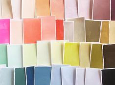 Painted colour swatches in a fun colour palette Palettes Color, Colour Schemes, Color Trends, Colour Combinations, Textures Patterns, Color Patterns, Palette Pastel, Color Studies, Color Swatches