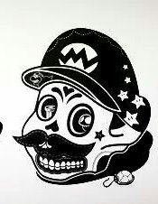 Mario Brothers dia de los muertos
