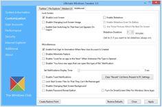 Download Ultimate Windows Tweaker 3 for Windows 8 http://www.thewindowsclub.com/ultimate-windows-tweaker-3-windows-8
