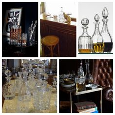 à votre santé! I Enjoy your very own Luxury Whisky Lounge at home with Trilogy's exclusive bar counters, stools, drinks trolleys and stunning French decanters :)