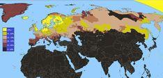Blonde hair in Eurasia