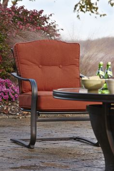 Klaussner Outdoor International Outdoor/Patio Riviera Chair W6004 C - Klaussner Outdoor - Asheboro, NC