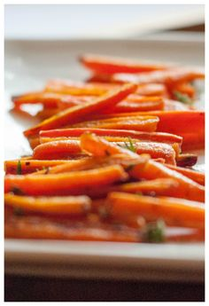 Brown Butter and Honey Glazed Carrots.. if you haven't discovered brown butter yet you need to try this!