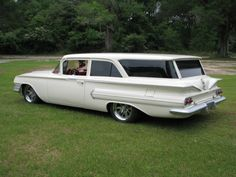 1960 Chevy Brookwood Station Wagon 2 Door Custom Pro Touring Hot ...