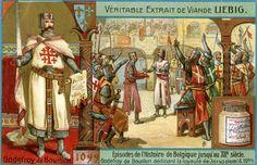 Godefroy de Bouillon déclinant la royauté de Jérusalem