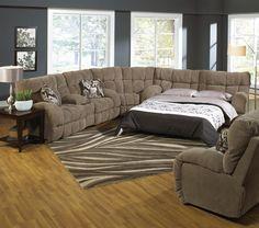 Catnapper Sectional Sleeper Sofa